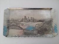 RARE WENDELL AUGUST ALUMINUM PITTSBURGH PA  TRAY MAJESTIC STEAMBOAT RIVERBOAT