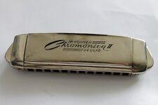 Antique German Harmonica M. HOHNER Chromonica De Luxe 1930`s