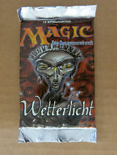 Magic the Gathering German Weatherlight booster packs