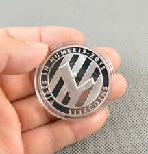 Silver Plated Commemorative Litecoin Collectible Golden Iron Miner Coin Newest