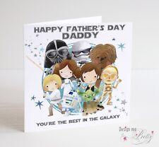 STAR WARS Father's Day Card - Dad Daddy