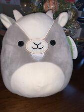 """Squishmallow-8"""" Walker the Gray & White Goat-NWT & SUPER CUTE!! Spring 2020"""
