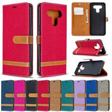 Jeans Wallet Leather Flip Case Cover For LG K51 Q60 K50 K40 Stylo 5 Stylo 4 K61