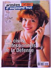 Armées d'Aujourd'hui n°223 du 09/1997; Les Civils professionnels de la défense