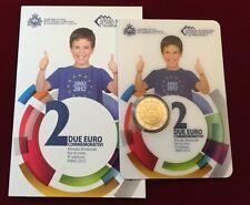 2 euro 2012 San Marino TYE folder official BU