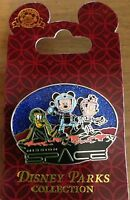 Disney World Epcot MISSION SPACE Mickey Minnie Mouse and Pluto PIN! NEW!