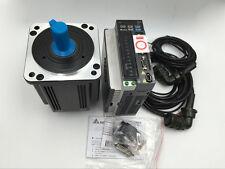 Delta 400W B2 Servo Motor &Driver 1.27Nm CNC Kit Set ECMA-C20604RS+ASD-B2-0421-B