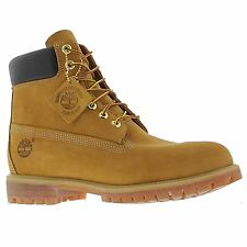 Timberland 10061 AF Premium 6 Inch Wheat Leather Mens BOOTS UK 9