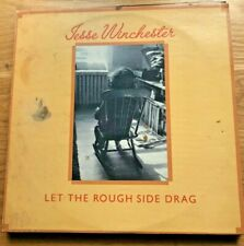 """VINTAGE VINYL Record Collections  """"LET THE ROUGH SIDE DRAG"""" by JESSE WINCHESTER!"""