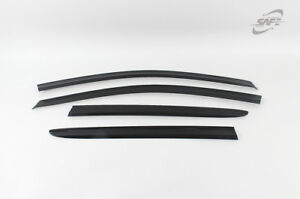 SAFE Smoke weather shields 4pcs for 08/2004 ~ 02/2013 Volkswagen Golf MK5 MK6