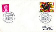 14 de septiembre de 1993 otoño primer día cubierta Stourton House & Garden Warminster Shs