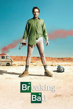 Breaking Bad 24x36 Poster Crime Drama New Mexico Methamphetamine Chemistry New!!