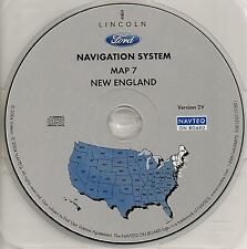03 04 05 06 Ford Expedition Escape Navigation Map #7 Cover New England Region