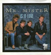 """Mr Mister - Is It Love - 7 """" Single"""