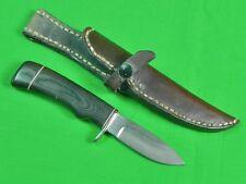 Vintage Custom Hand Made HARRY MORSETH Kit Hunting Fighting Knife