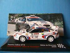 TOYOTA CELICA GT4 #10 RALLYE DU ROUERGUE 2008 ROUILLARD