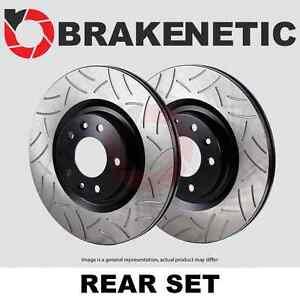 [REAR SET] BRAKENETIC PREMIUM GT SLOTTED Brake Disc Rotors BNP37004.GT