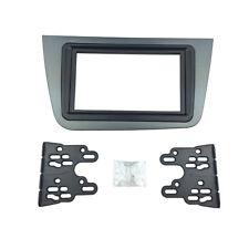 2 Din Radio Fascia for Seat Altea Stereo Panel DVD Dash Mount Frame Cover Trim