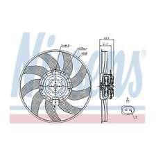 Fits Audi A4 Allroad B8 2.0 TDI Quattro Nissens Cooling Right Radiator Fan