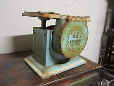 Vintage Universal Bath 300 LB Scale Landers Frary & Clark Cast Iron Industrial