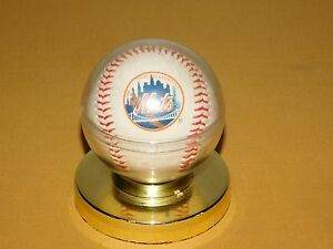 VINTAGE MLB GREGG JEFFERIES NEW YORK METS AUTOGRAPHED SIGNED BASEBALL