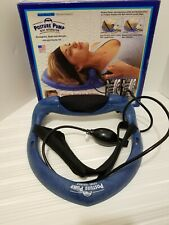 Posture Pump Spine Trainer Cervical Disc Hydrator Chiropractic Pain Relief + box