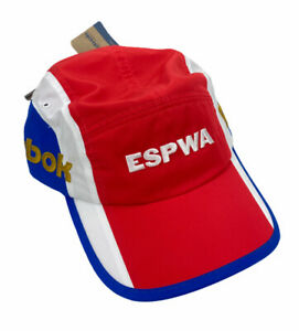 NEW Reebok x Pyer Moss Espwa Cycling Hat Cap Classics Red White Blue Adult NWT