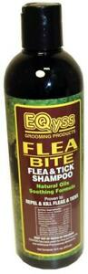EQyss Flea Bite Flea & Tick Shampoo For Cats and Dogs, 16 Ounces Per Bottle