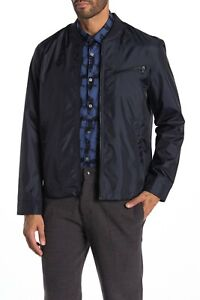 John Varvatos Star USA Men's Navy Lightweight Bomber Jacket $298