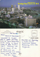 1983 Perth From Legacy Lookout Western Australia Colour Postcard