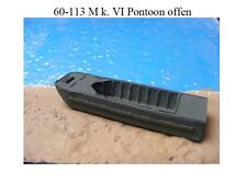 MGM 060-113 1/76 and 1/72 Resin WWII Mark VI Pontoon (barge)-open Full Depth