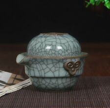 China  Longquan Celadon Travel Ceramic Tea Set A Pot Of A Teacup