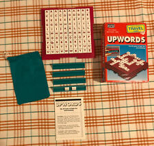 Upwards Travel Edition 1995 By Parker Word Tile Game 100% Complete