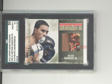 Hector Camacho Jr. trunks relic card 2011 Sportkings Ringside Boxing SGC 92