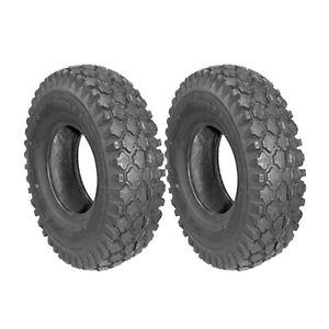 Set Of (2) Tires Stud 480X400x8 (4.80X4.00X8) 2Ply Cheng Shin (2) 344