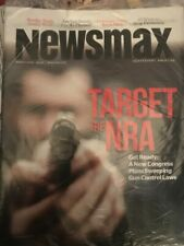Newsmax Independent American - March  2019 - Target the NRA - GUn Control Laws