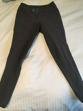 Pikeur Cindy Low Rise Full Seat Breeches  24R - Anthracite
