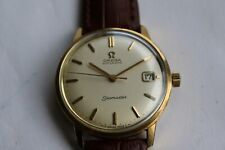 Omega Seamaster automatic with date goldplated.