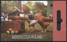 More details for aland cultures stamps 2019 mnh harvest festival cows apples festivals 9v booklet