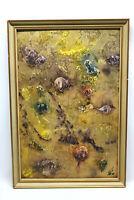 GemäldeRotes Meer von Alfred Götte Hofgeismar 1978