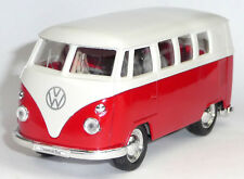 VW Bus (1962) Bulli T1 rot Modellauto 1:37 Metall Spritzguss von WELLY Neuware!