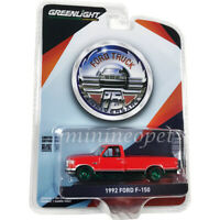 GREENLIGHT 28020 D ANNIVERSARY OF FORD TRUCKS 1992 FORD F-150 PICK UP 1/64 Chase