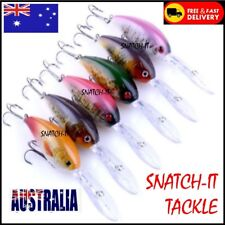 Freshwater Fishing Lures  Yellowbelly Murray Cod Bass Barra Jack Flathead Lures