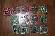 sacco di lavoro di 13x MXM portatile schede video Nvidia 8600M 9500M 9600M...