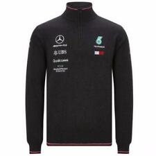 MAGLIA KNITTED 1/2 ZIP  MERCEDES AMG PETRONAS F1 TEAM OFFICIAL