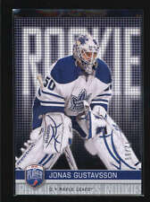 JONAS GUSTAVSSON 2008/09 08/09 UD BE A PLAYER #284 ROOKIE RC #72/99 AB6053