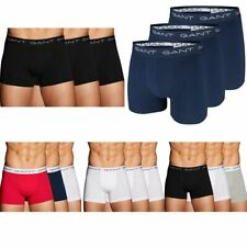 GANT Herren Boxer, 3er Pack Boxer Brief Unterhosen bequem hoch geschnitten