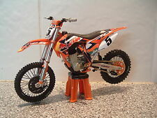 TOY MOTOCROSS BIKE MODEL 1:12 RYAN DUNGEY RED BULL KTM #5 SXF 450 BDAY GIFT 2014