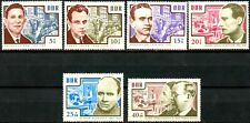 Germany DDR 1964 Anti-Nazi Martyrs Complete Set 6 MNH S/P Scott's B112 to B117