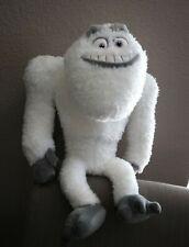 Disney Store Pixar Plush Yeti Abominable Snowman Monsters Inc Lg White Bigfoot
